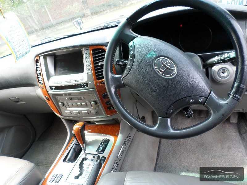 Toyota Land Cruiser 2005 Interior Toyota Land Cruiser 2005 For