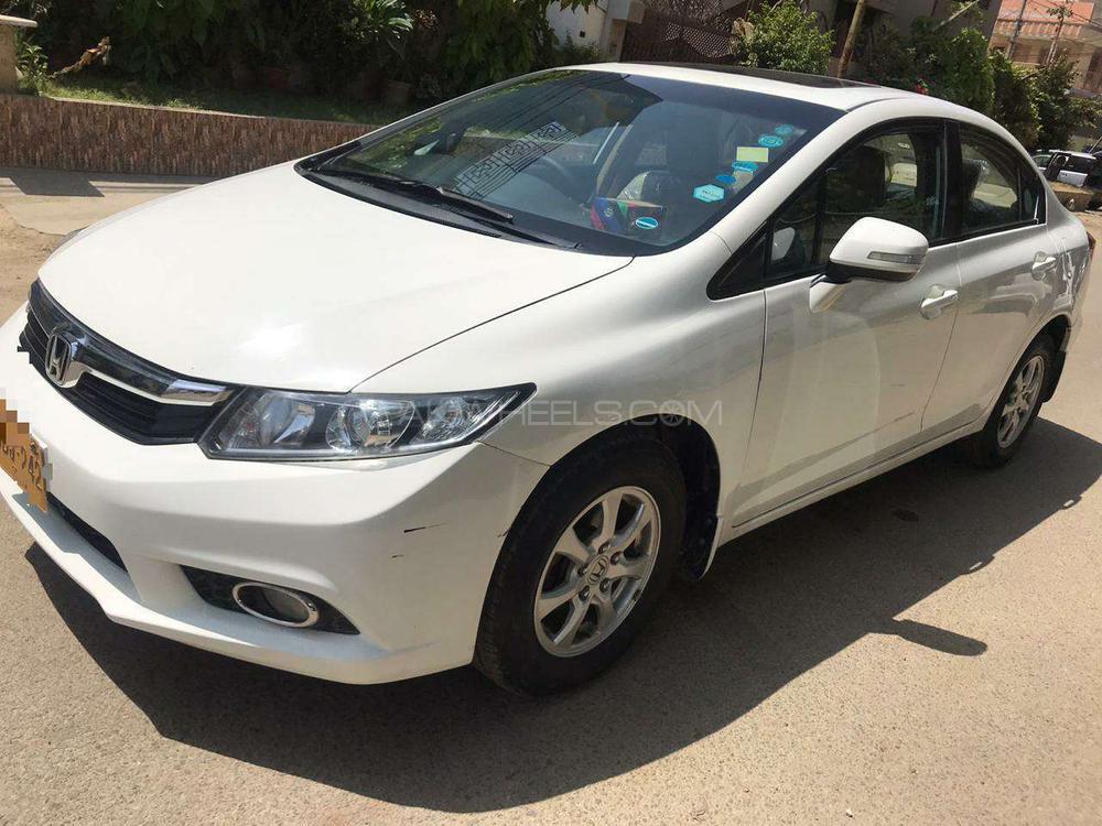 Honda Civic VTi Prosmatec 1.8 i-VTEC 2014 Image-1