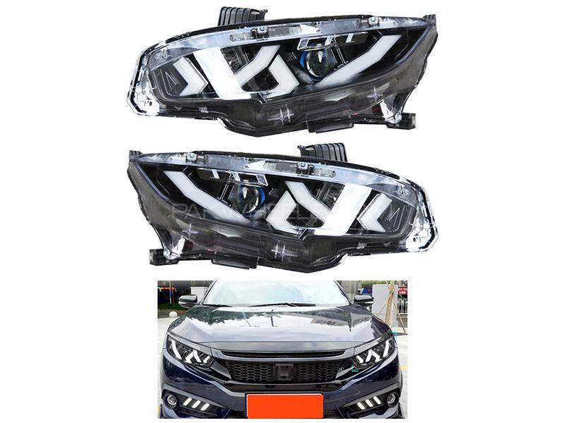 Honda Civic 2016-2020 Lamborghini Style Headlight  in Karachi