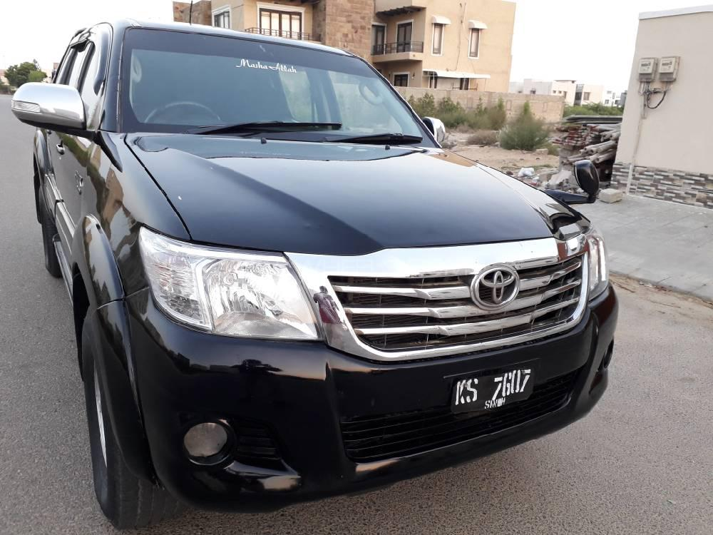 Toyota Hilux Vigo Champ GX 2013 Image-1
