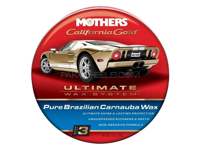Mother Car Waxes California Gold Ultimate Brazilian Carnauba Wax System 12oz Image-1