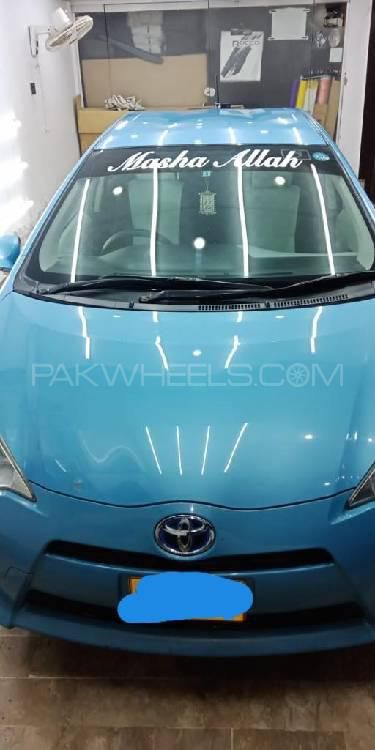 Toyota Aqua Crossover 2012 Image-1