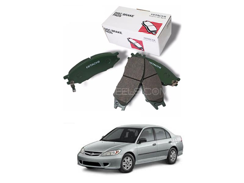 Hitachi Front Brake Pad For Honda Civic 2004-2006 - HS419 Image-1