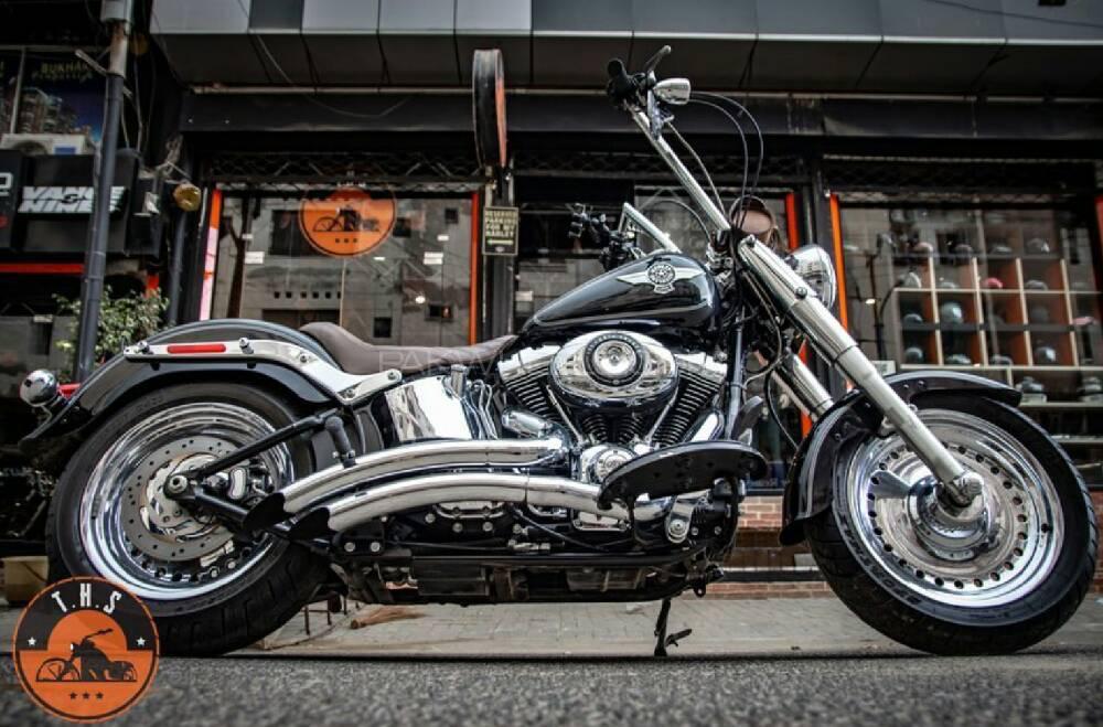 Harley Davidson Fat Boy 2014 Image-1