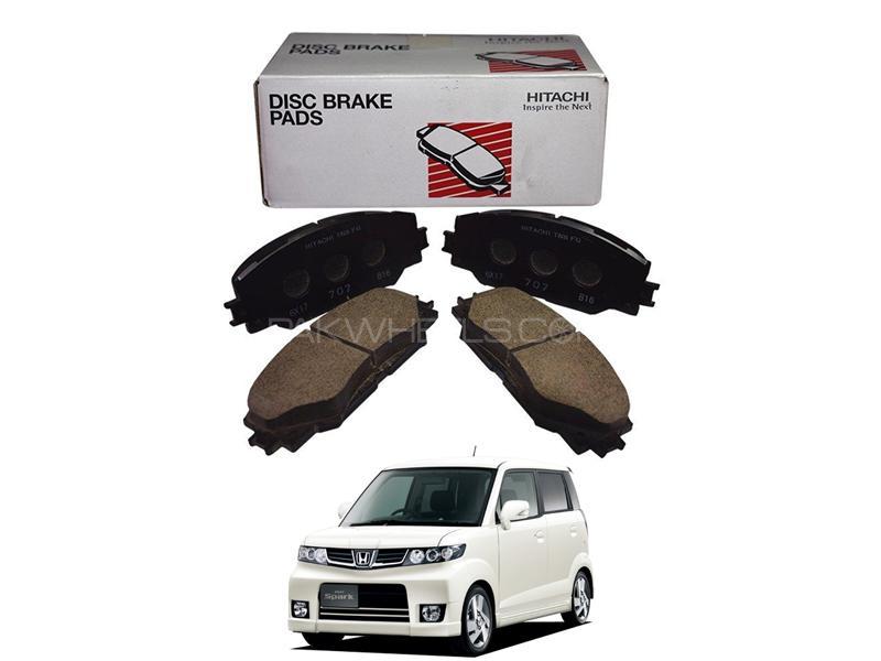 Hitachi Front Brake Pad For Honda Zest Spark 2008-2011 - HF440M Image-1