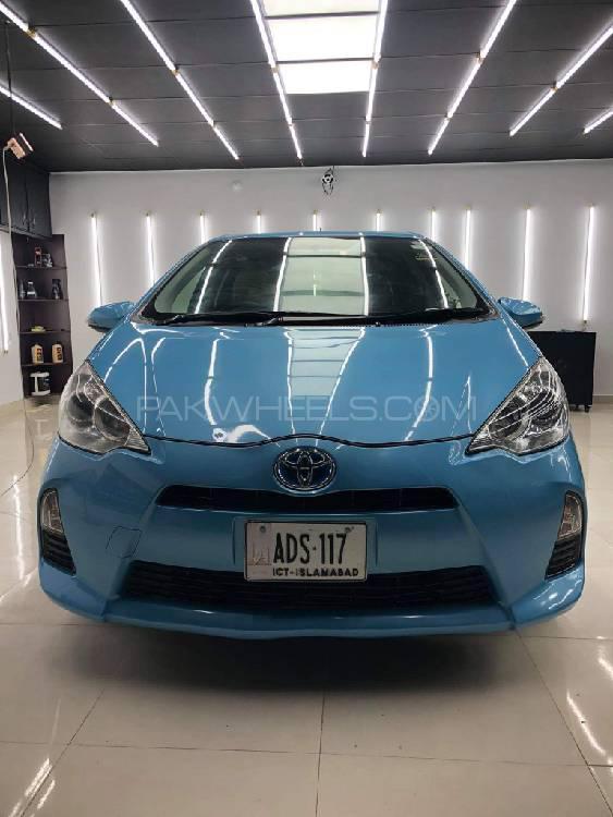 Toyota Aqua Crossover 2014 Image-1