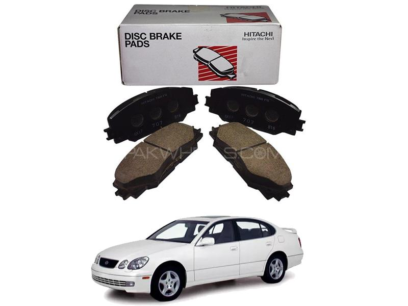 Lexus Gs300 Hitachi Rear Brake Pads - HF790 in Lahore