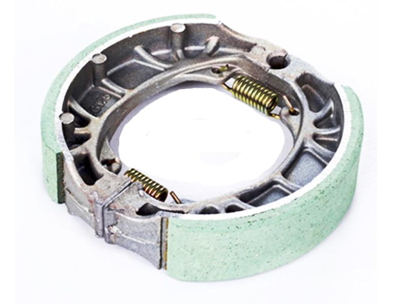 One Plus Brake Shoe With Spring For 70cc Image-1