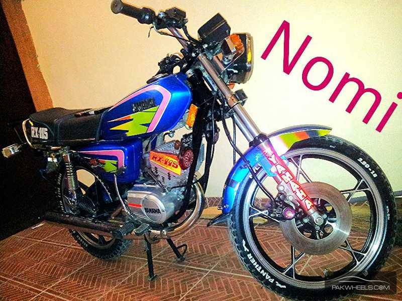 Used yamaha rx 115 1983 bike for sale in karachi 115389 for Yamaha rx115 motorcycle for sale