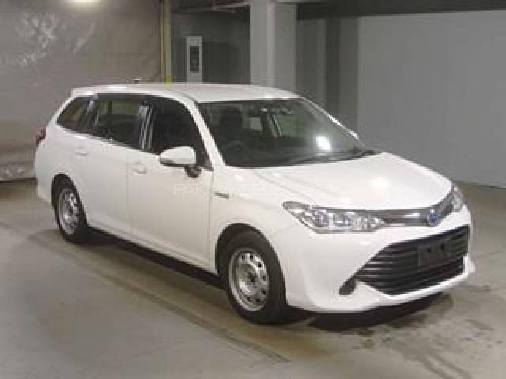 Toyota Corolla Fielder X 2017 Image-1
