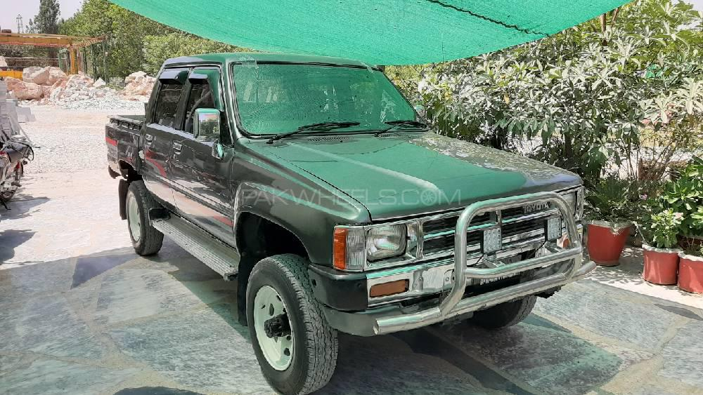 Toyota Hilux 4x4 Double Cab Standard 1988 Image-1