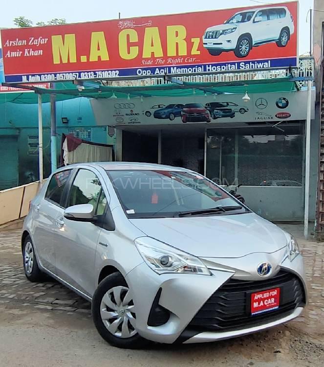 Toyota Vitz Hybrid U 1.5 2017 Image-1
