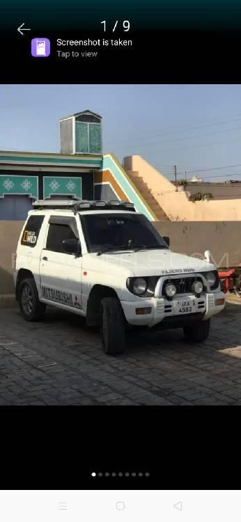Mitsubishi Pajero Mini ZR 1996 Image-1