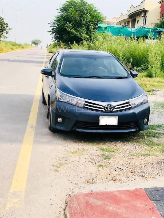 Toyota Corolla Altis Grande 1.8 2014 Image-1