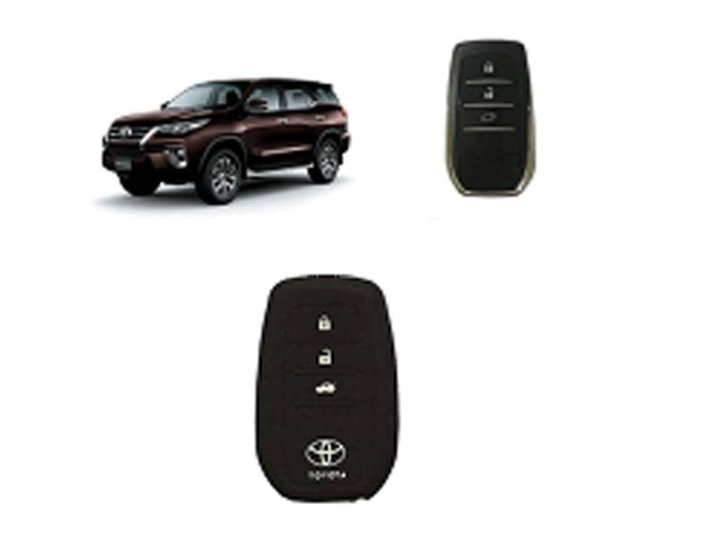 Key Cover For Toyota Fortuner 2016-2020 Image-1