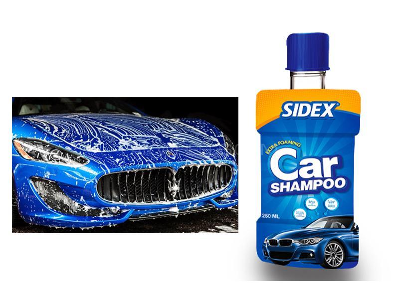 Sidex Extra Foaming Car Shine Shampoo 250ml Image-1