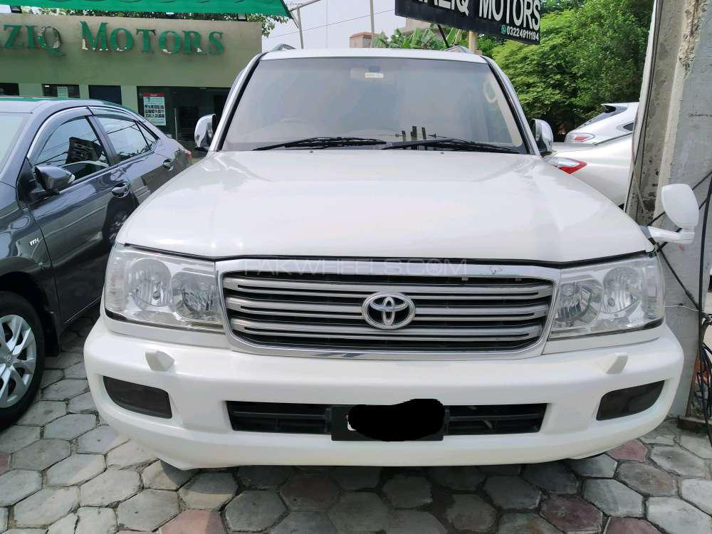 Toyota Land Cruiser VX Limited 4.2D 2003 Image-1