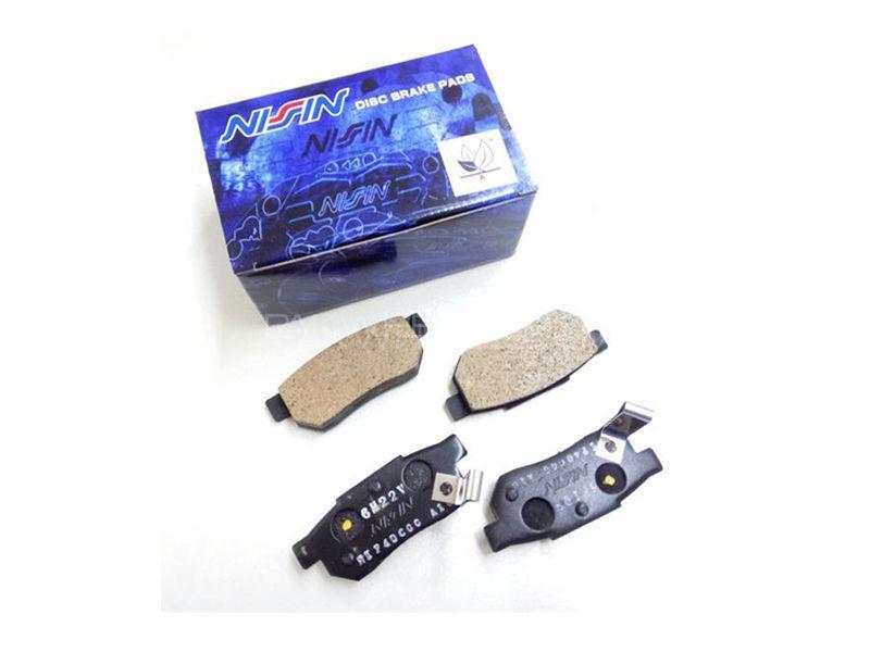 Honda Civic 2001-2004 Vti Rear Brake Pads Nisin Image-1