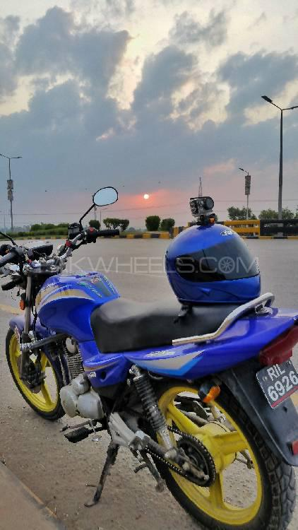 Ravi Piaggio Storm 125 - 2013 Blue Bird Image-1