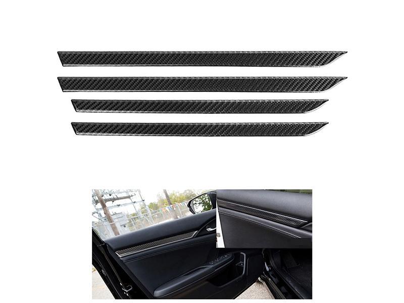 Honda Civic 2016-2020 Inner Door Trim - Carbon Image-1