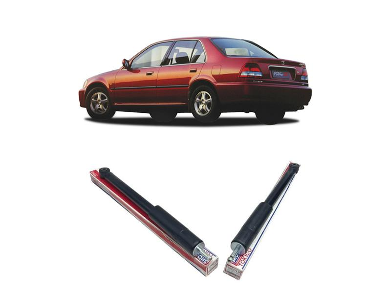 Honda City 1998-2001 Rear Shock Absorbers - 2pcs Image-1