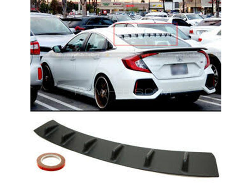 Honda Civic 2016-2020 Roof Spoiler  Image-1