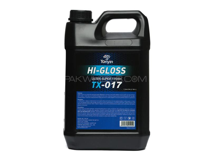 Tonyin Car Care Hi Gloss Ultra Super Finish Compound Gallon 3.785L Image-1