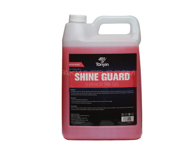 Tonyin Car Care Shine Guard Gel Gallon 3.785L Image-1