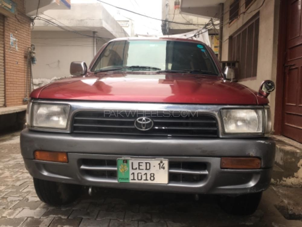Toyota Hilux Double Cab 1991 Image-1