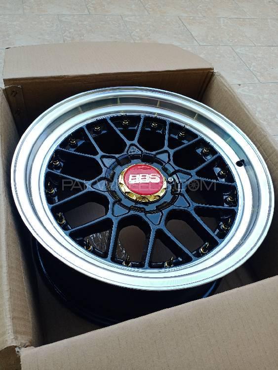 Brand New 17 Inch Alloy Wheels 8.5jj 5 Nut Image-1