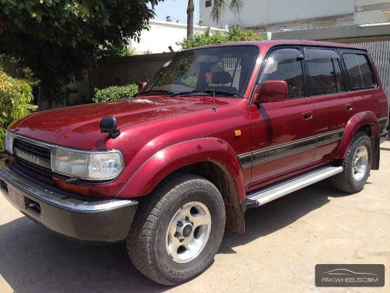 toyota land cruiser vx limited 4 7 1996 for sale in lahore. Black Bedroom Furniture Sets. Home Design Ideas