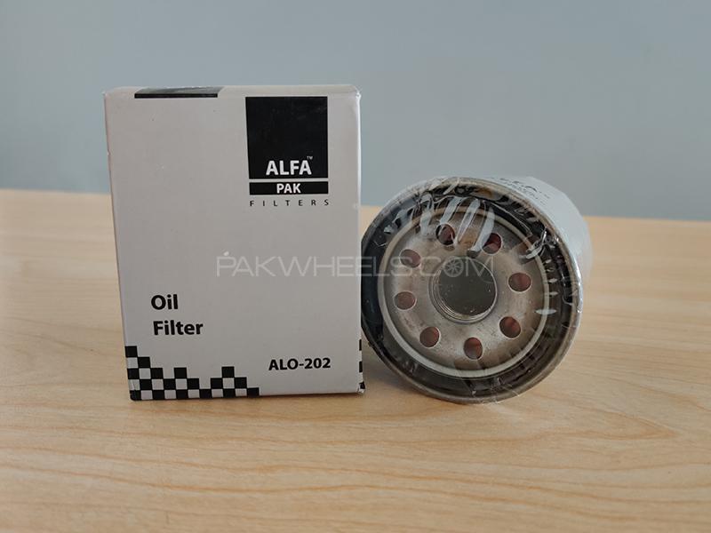 Honda City 2000-2003 Alfa Oil Filter Image-1