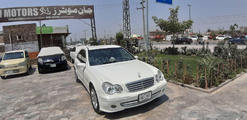 Mercedes Benz C Class Estate C200 2006 Image-1