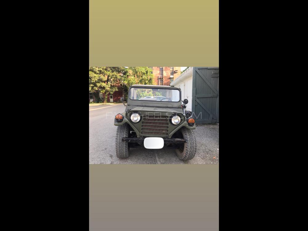 Jeep M 825 1987 Image-1