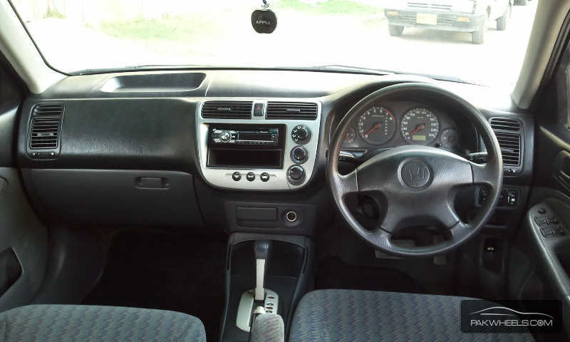 Honda civic exi prosmatec 2002 for sale in karachi pakwheels for 2002 honda civic power window not working