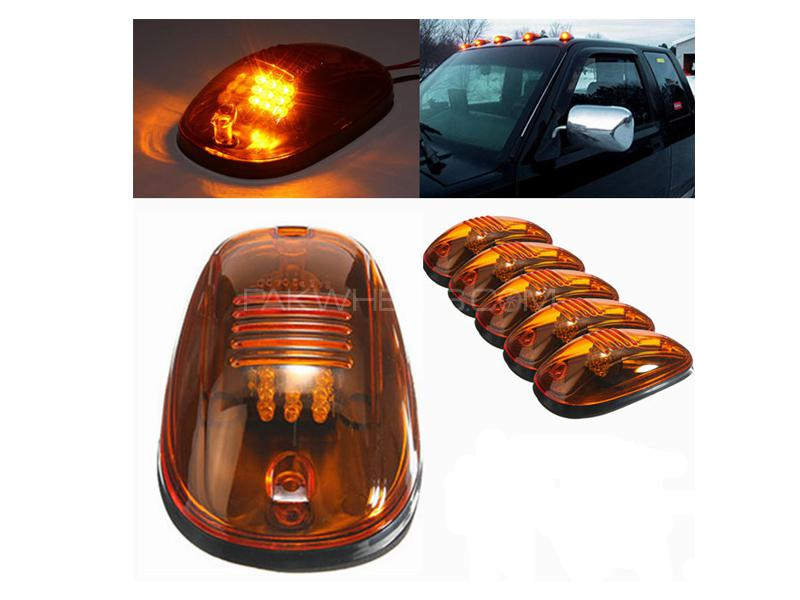 Jeep Roof Lights Amber Raptor Style 5pcs in Lahore
