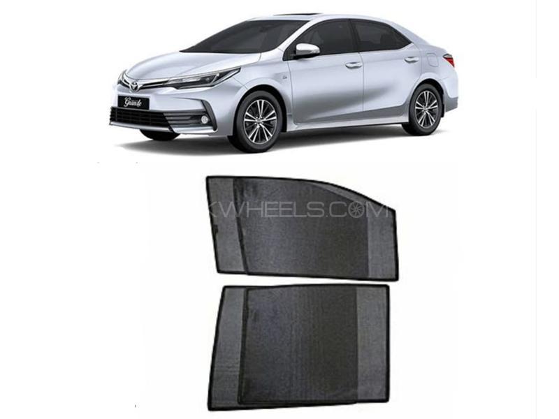 Sun Shades For Toyota Corolla 2014-2020 Image-1