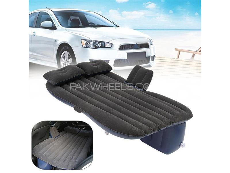 Universal Inflatable Air Bed Mattress - Black  in Karachi