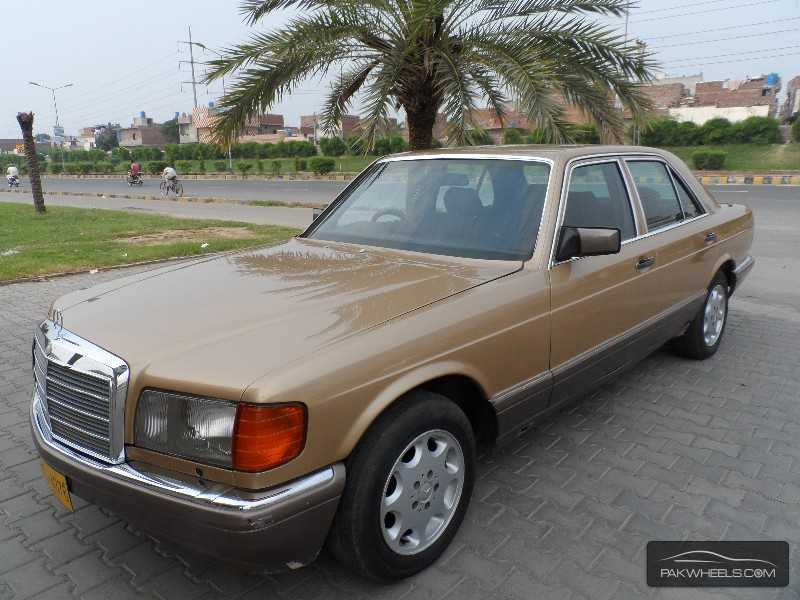 Mercedes benz s class s280 1985 for sale in lahore pakwheels for Mercedes benz s280 for sale