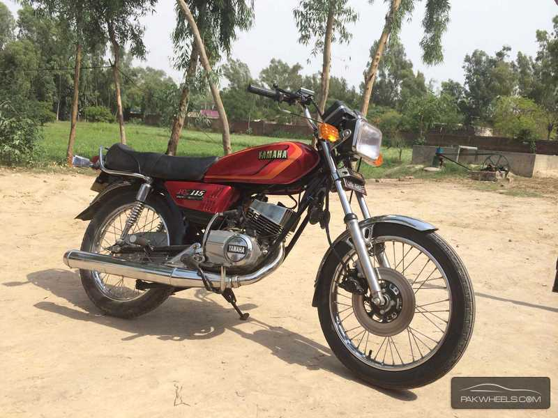 Used yamaha rx 115 1982 bike for sale in lahore 117977 for Yamaha rx115 motorcycle for sale