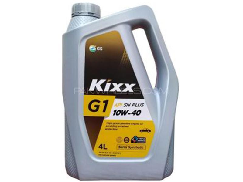 Kixx 10W-40 Engine Oil - 4L Image-1