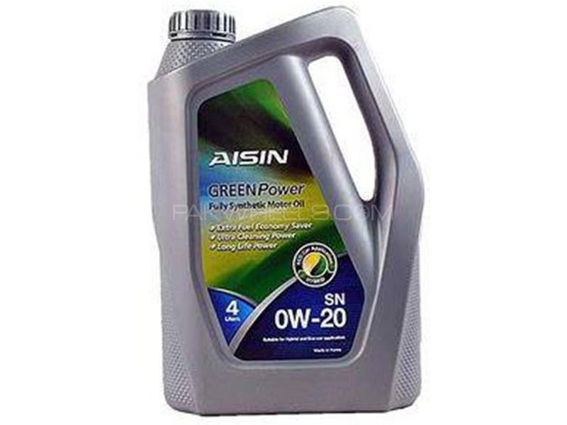 Aisin Engine Oil 0W-20 - 4L Image-1