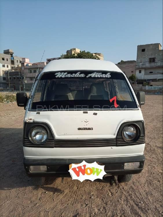 Suzuki Bolan VX (CNG) 1986 Image-1