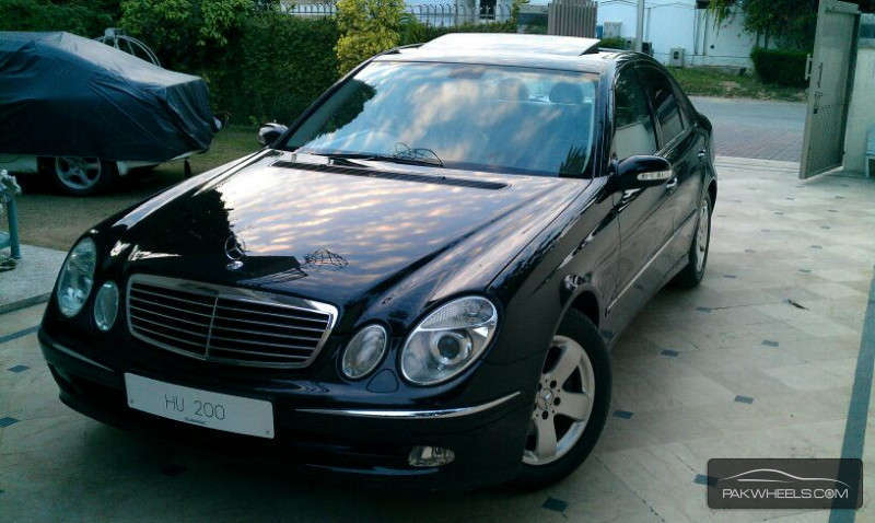 Mercedes benz e class e200 2005 for sale in islamabad for 2005 e320 mercedes benz