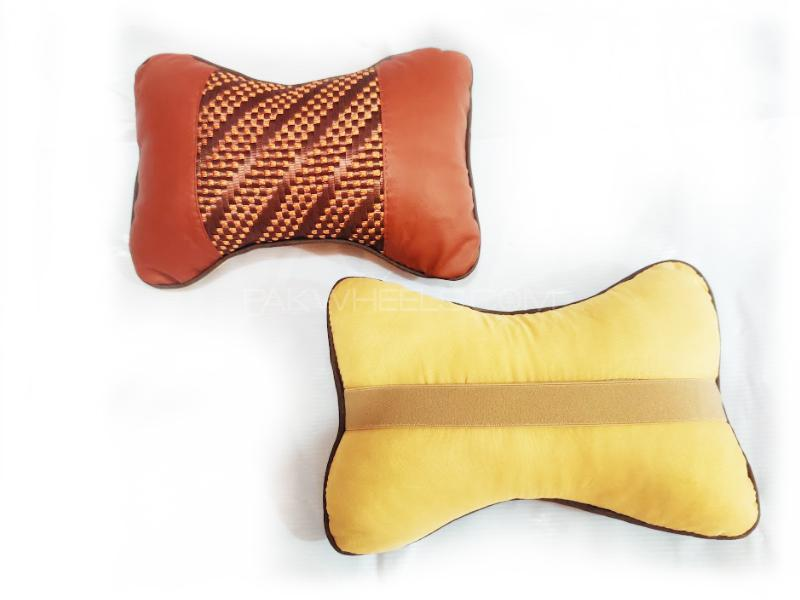 Seat Neck Rest Fabric Cushion Two Ton D7 in Lahore