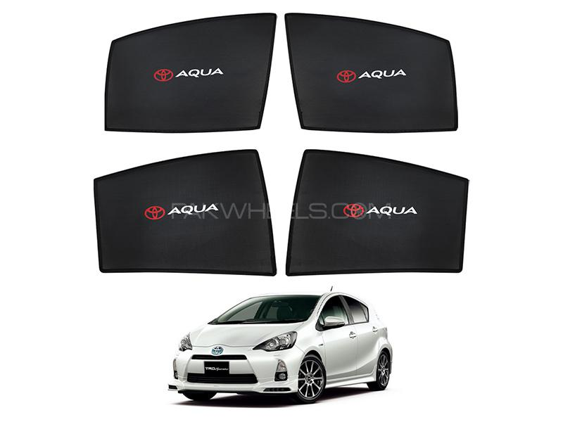 Toyota Aqua 2012-2020 High Quality Sun Shades With Logo  in Karachi