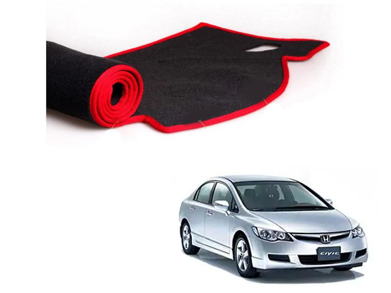 Honda Civic 2006-2012 Dashboard Carpet Mat in Lahore