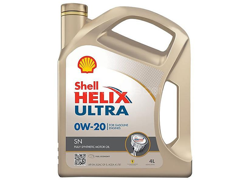 Shell Engine Oil 0W-20 - 4 Litre Image-1