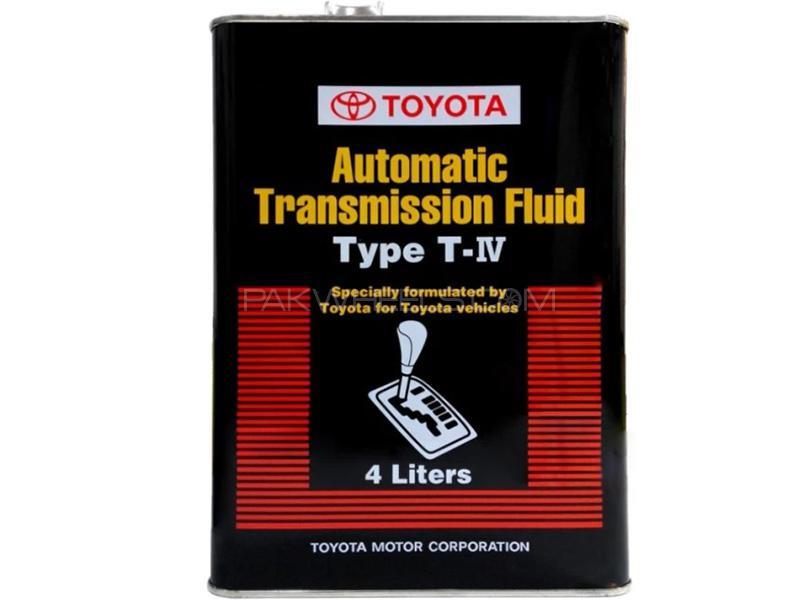Toyota Genuine ATF T-4 - 4 Litre Image-1