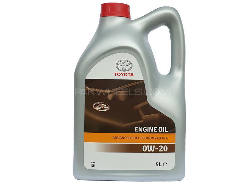 Toyota Genuine Engine Oil 0W-20 - 4 Litre Image-1